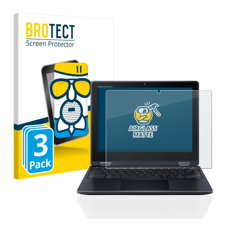 3x BROTECT AirGlass matná skleněná fólie pro Acer Chromebook Spin 512