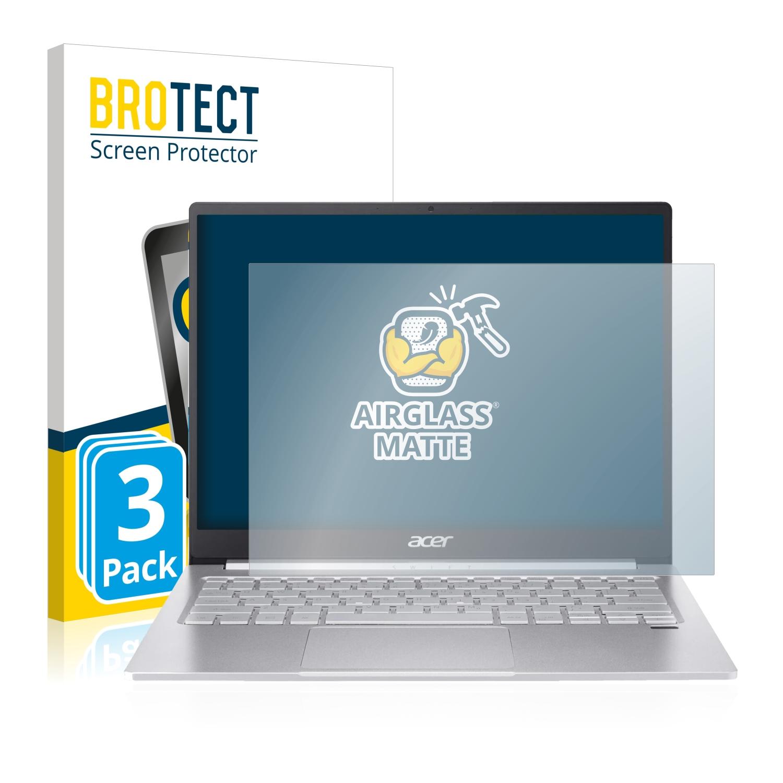 3x BROTECT AirGlass matná skleněná fólie pro Acer Swift 3 SF313-53