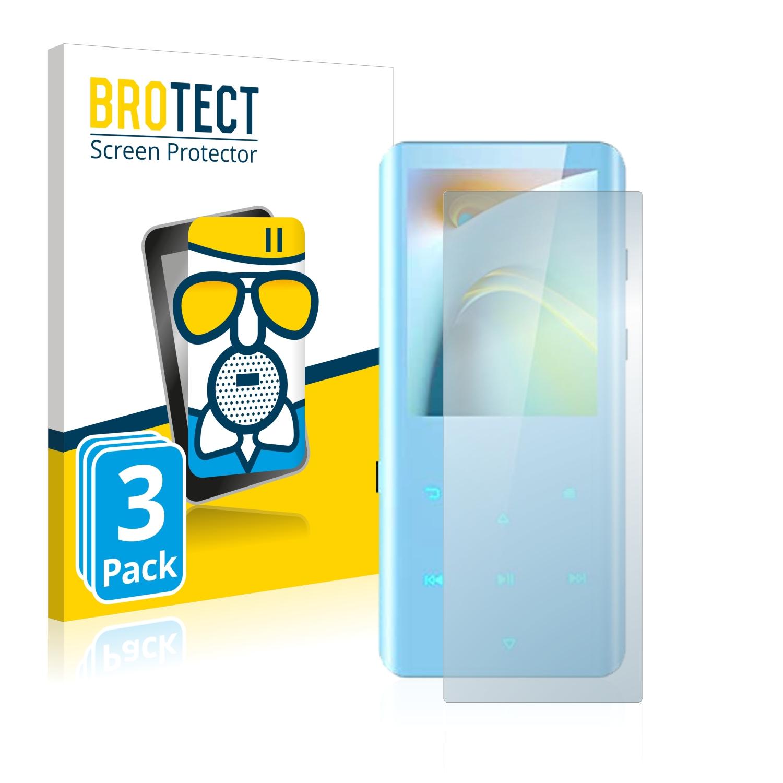 3x BROTECT AirGlass matná skleněná fólie pro AGPtek A19X