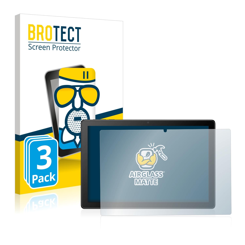 3x BROTECT AirGlass matná skleněná fólie pro Alcatel 1T 8091