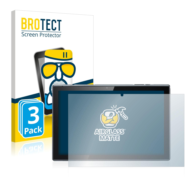 3x BROTECT AirGlass matná skleněná fólie pro Acer ACTAB1021