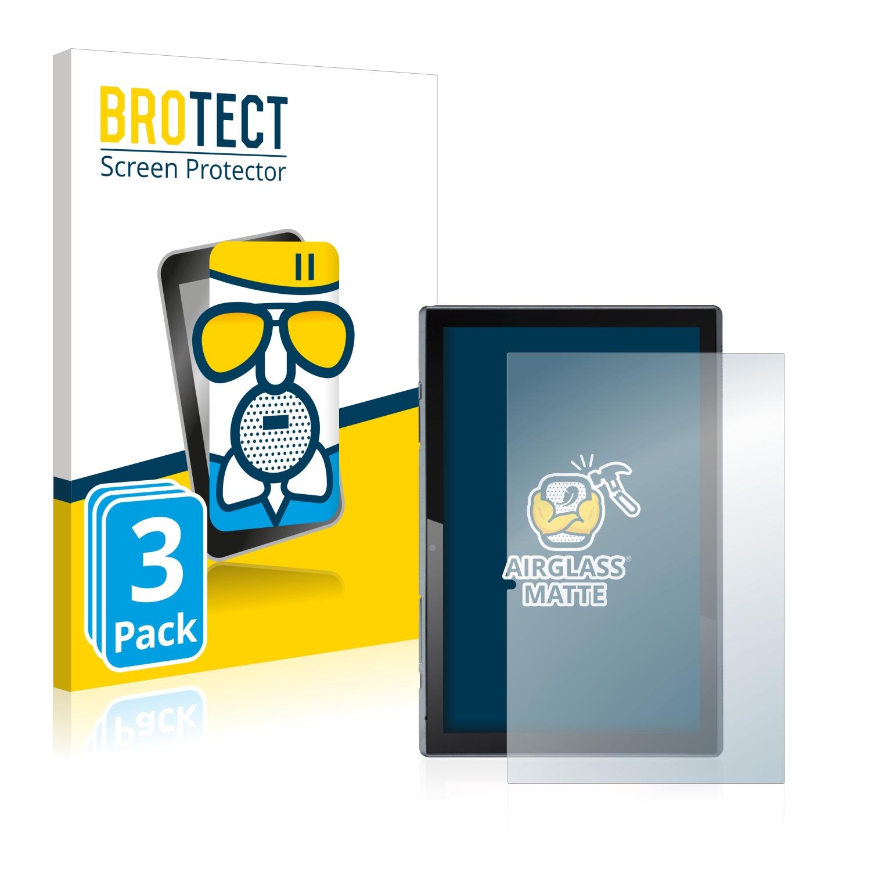 3x BROTECT AirGlass matná skleněná fólie pro Acer ACTAB1021 (na výšku)