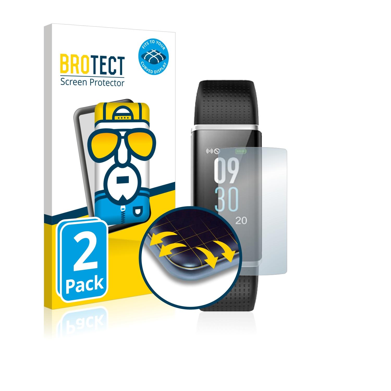 Ochranná fólie BROTECT Flex Full-Cover pro Chereeki Fitness Tracker ID130C, 2ks