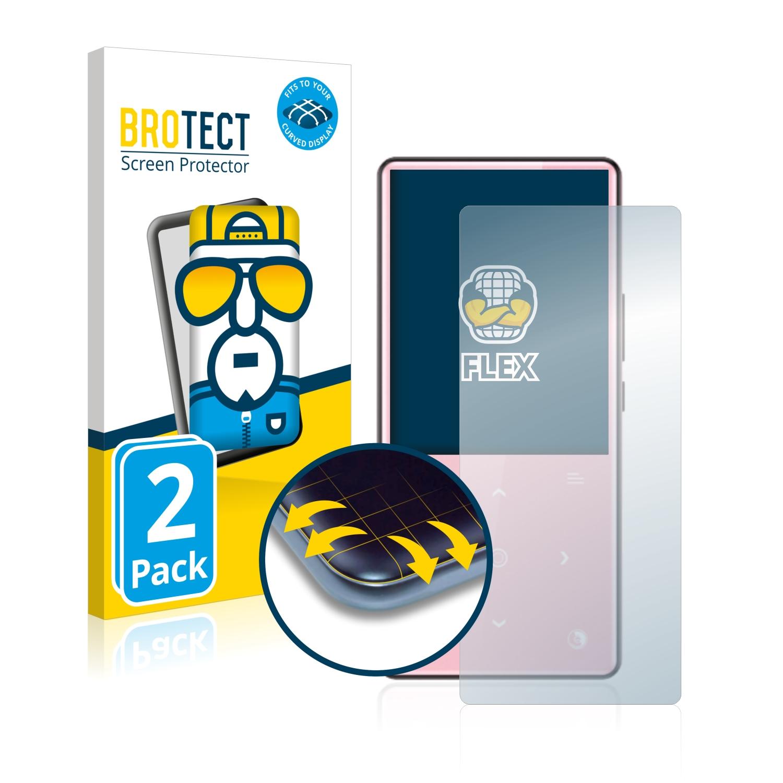 2x BROTECT Flex Full-Cover čirá ochranná fólie pro AGPtek H9