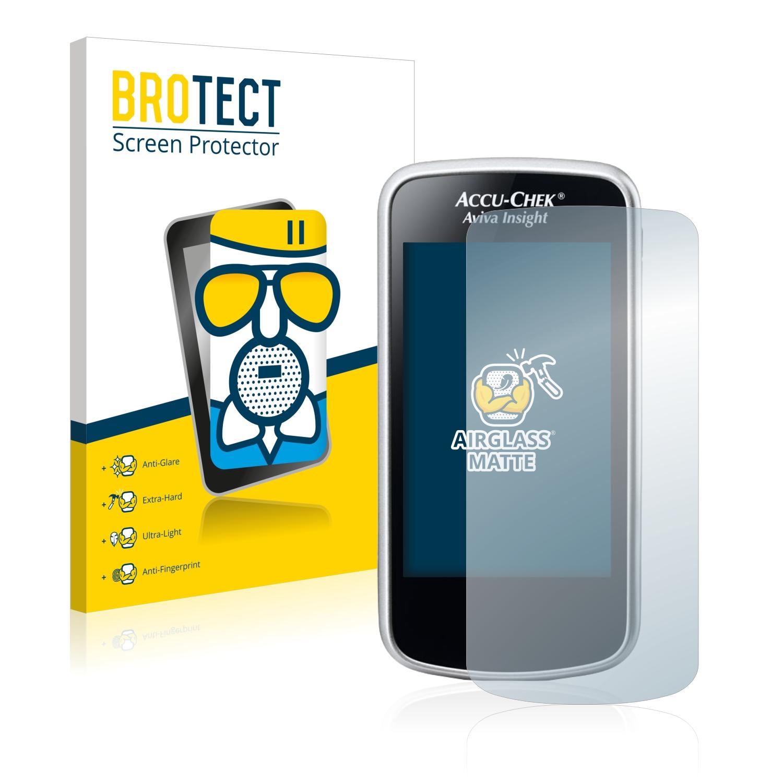 Airglass matné ochranné sklo pro Accu-Chek Aviva Insight Diabetes Manager