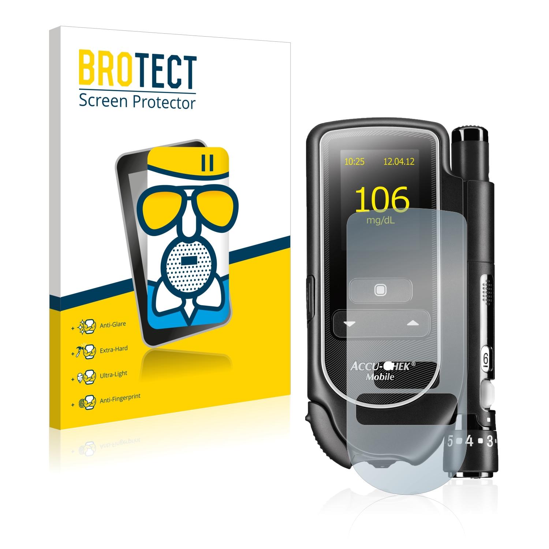 Airglass matné ochranné sklo pro Accu-Chek Mobile