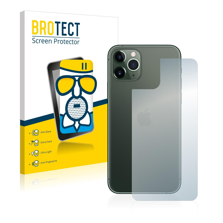 Airglass matné ochranné sklo pro Apple iPhone 11 Pro Max (Zadní strana)