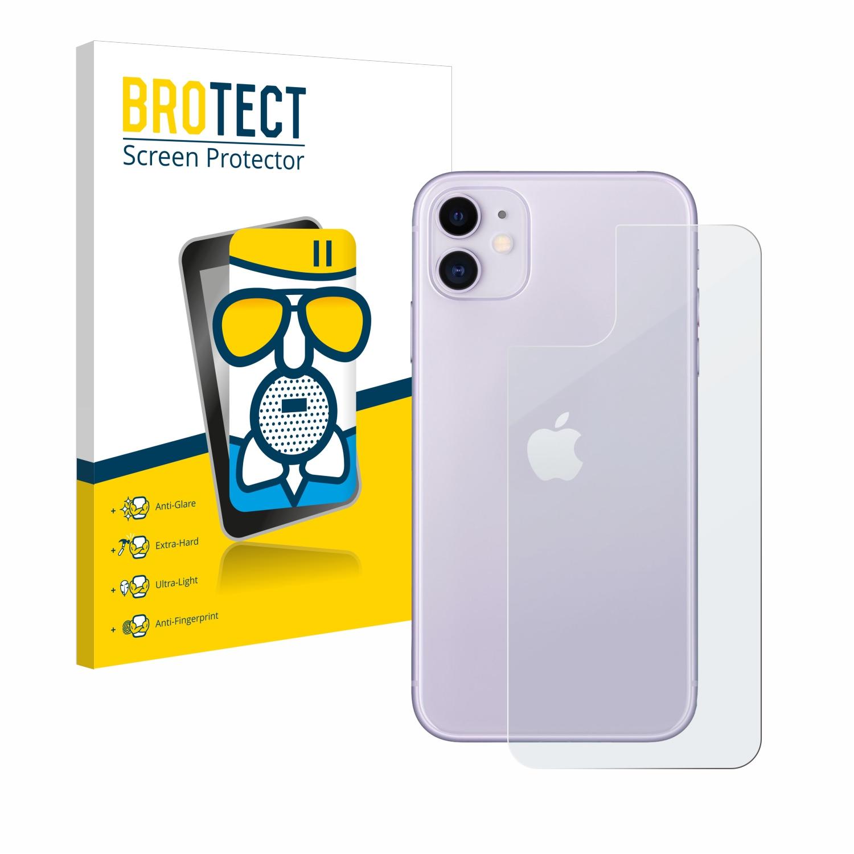 Airglass matné ochranné sklo pro Apple iPhone 11 (Zadní strana)