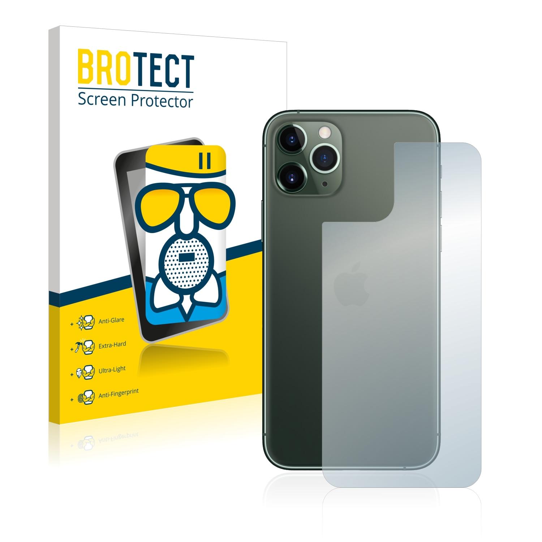 Airglass matné ochranné sklo pro Apple iPhone 11 Pro (Zadní strana)