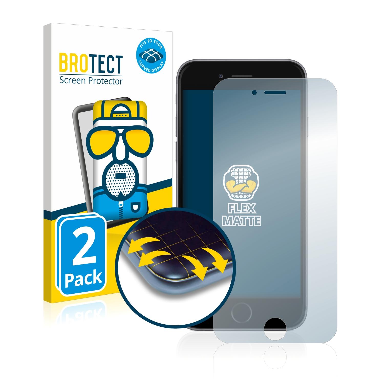 2x BROTECT Flex  Full-Cover matná ochranná fólie pro Apple iPhone 6