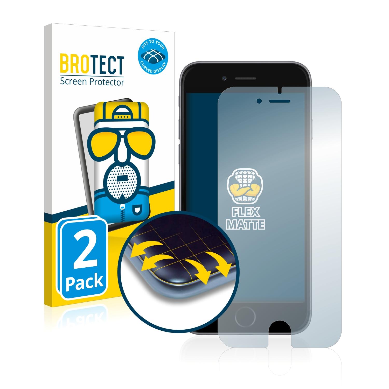 2x BROTECT Flex  Full-Cover matná ochranná fólie pro Apple iPhone 6S