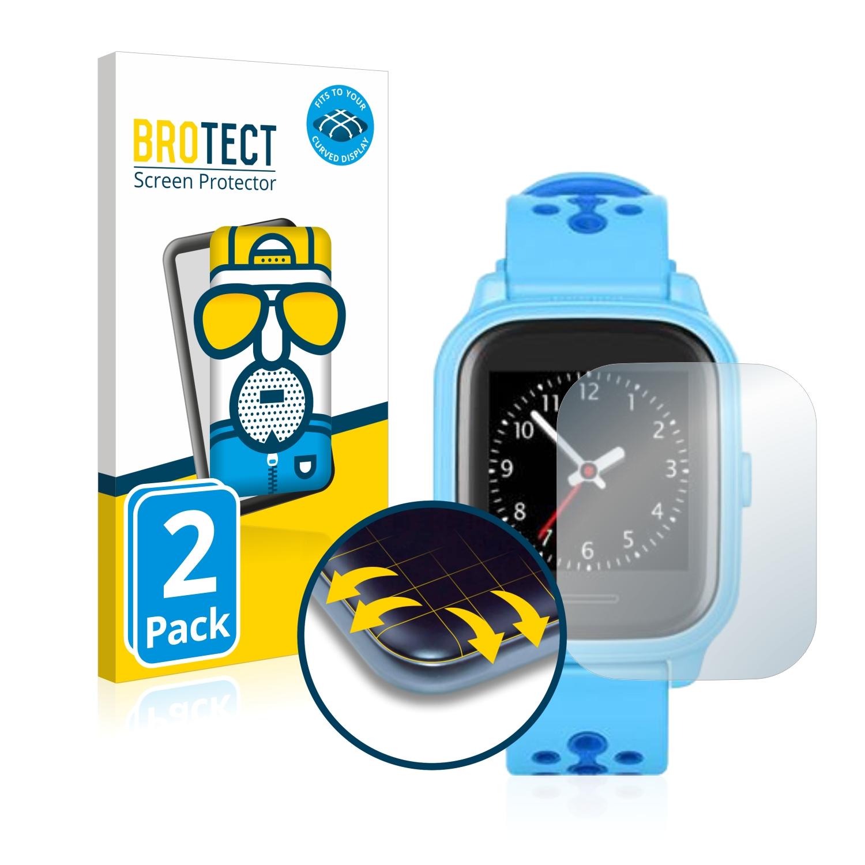 2x BROTECT Flex  Full-Cover matná ochranná fólie pro Anio 4 Touch