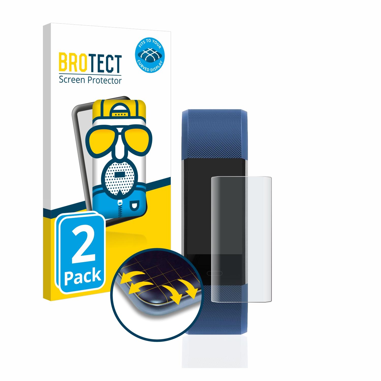 2x BROTECT Flex  Full-Cover matná ochranná fólie pro Antimi Fitness Armband EIGS