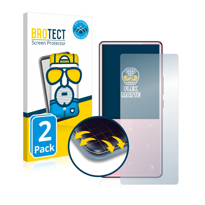 2x BROTECT Flex  Full-Cover matná ochranná fólie pro AGPtek H9