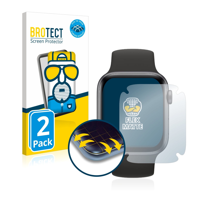 2x BROTECT Flex  Full-Cover matná ochranná fólie pro Apple Watch SE (40 mm)