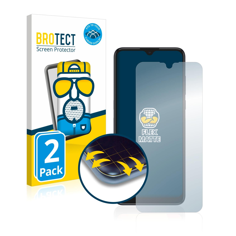 2x BROTECT Flex  Full-Cover matná ochranná fólie pro Alcatel 1S 2021